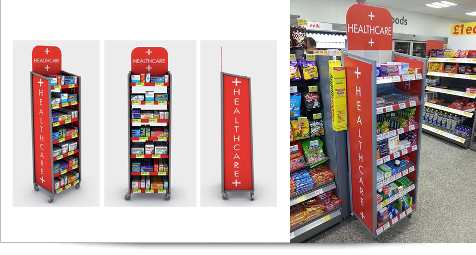 stand display design
